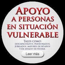 Apoyo a personas en situación vulnerable